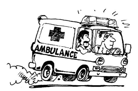 ambulance  transport coloriages  imprimer