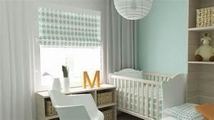 Rideau Bleu Pastel : d co 15 rideaux pour la chambre de b b ~ Teatrodelosmanantiales.com Idées de Décoration
