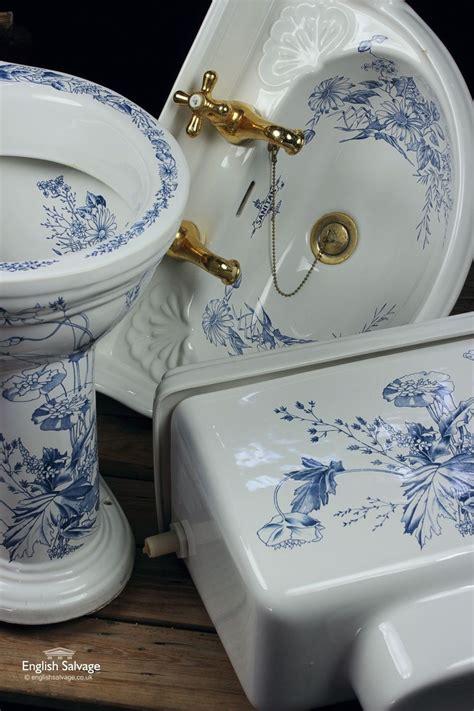 sanitan blue floral bathroom suite floral bathroom