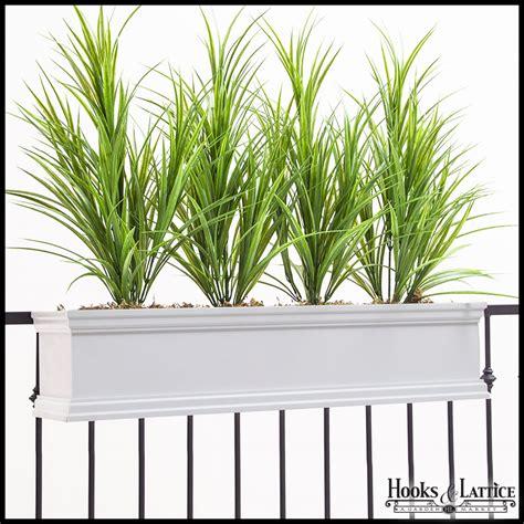 rail planter hook laguna railing mount window box 1711