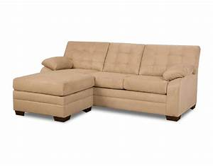 Simmons upholstery dawson beige sectional chaise home for Simmons sectional sofa with chaise