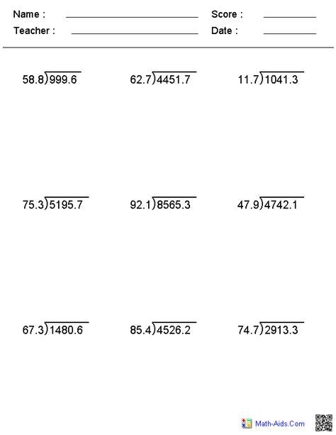 division worksheets printable division worksheets