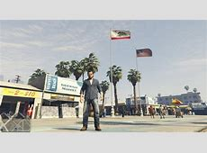 GTA 5 California Flag Mod GTAinsidecom