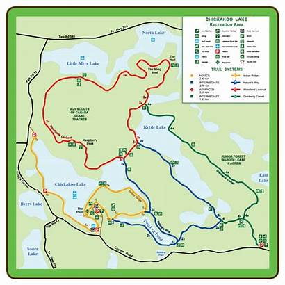 Map Trail Trails Natural Areas Lake Parkland