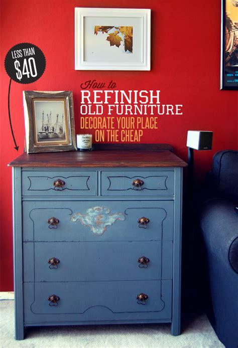 refinish  furniture decorate  place