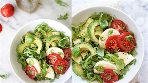 Sallatë rokula me avokado - Sallatat