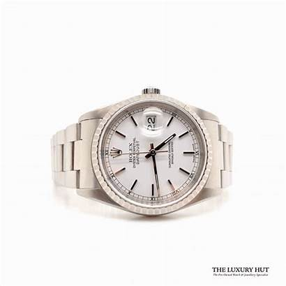 Perpetual Oyster Datejust Rolex Ref Steel 2002