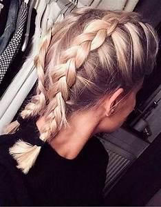 Tresse Facile à Faire Soi Même : tresse cheveux mi long a faire soi m me coiffure simple et facile ~ Melissatoandfro.com Idées de Décoration