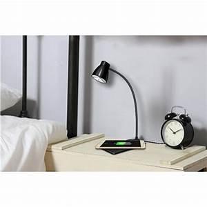 Lampe De Chevet Sans Fil : chargeur sans fil iphone qi lampe de bureau chargeur induction ~ Teatrodelosmanantiales.com Idées de Décoration