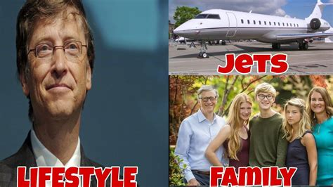 Lifestyle of Bill Gates Family, Cars, Jets  - YouTube