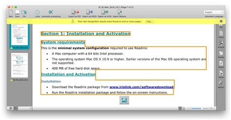 Readiris Pro 16 review: Mac OCR software more focused on