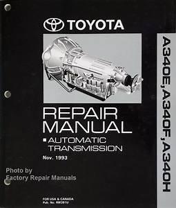 Toyota 4runner Tacoma T100 Supra Previa Automatic