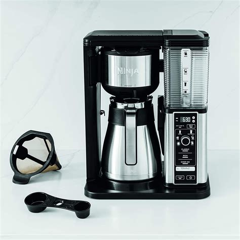 It is a better choice to carry it for any outdoor activities. Ninja CM407 Specialty Coffee Maker, with 50 oz. Thermal Carafe, Black and Stainless Steel Finish ...