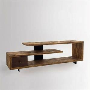 Table Tv Design : fernsehtisch 22 super effektvolle modelle ~ Teatrodelosmanantiales.com Idées de Décoration