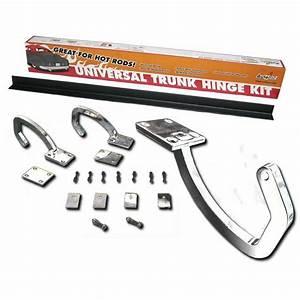 Autoloc 12857 Universal Chrome Trunk Hinge Kit