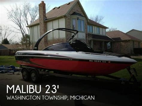 Second Hand Malibu Boats For Sale by Malibu 23 Wakesetter Lsv In Florida Open Boats Used