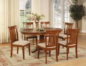 Dining Room Sets For 6 7 Pc Oval Dinette Dining Room Set Table And 6 Chairs