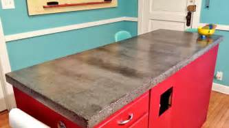 Diy Concrete Kitchen Countertops by Apartment 528 The Weekender Diy Concrete Countertops