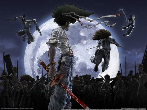 Samurai Anime Wallpaper - wallpapers anime afro samurai