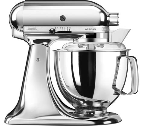 kitchen aid artisan accessories buy kitchenaid artisan 5ksm175psbcr stand mixer chrome 4968