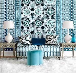 Décoration Murale Orientale : d coration zellige salon marocain traditionnel decoration plafond ~ Teatrodelosmanantiales.com Idées de Décoration