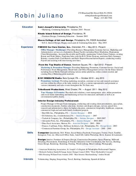 creative marketing manager resume robin juliano resume
