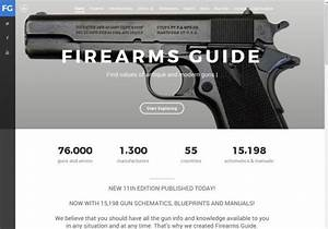 New Firearms Guide Offers 15k Printable Gun Manuals