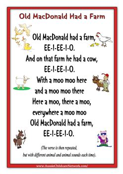 farm songs for preschoolers nursery rhymes macdonald had a farm search 683