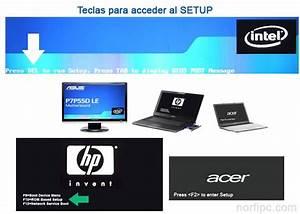 Como entrar y modificar el SETUP o BIOS de la PC o Laptop
