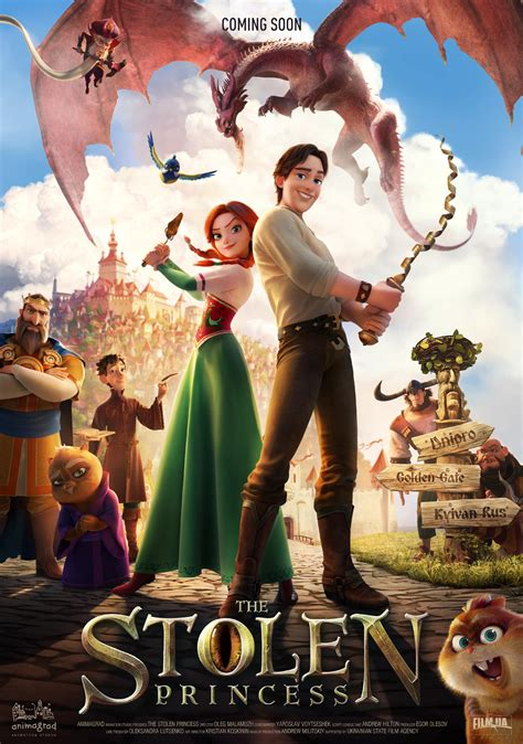 Animagrad Unleashes New Trailer for 'Stolen Princess'