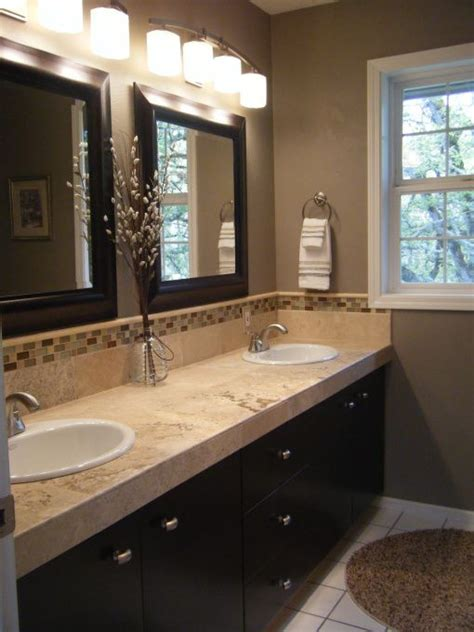 Colors For Master Bathroom by Best 25 Brown Bathroom Ideas On Bathroom