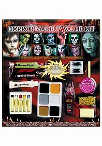 Zombie Face Complete Kits Makeup for sale  eBay