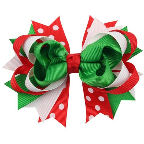 how to best store christmas bows aliexpress buy 100pcs grosgrain ribbon hair bow with clip boutique