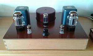 Diy 6l6 Kt66 Single Ended Amplifier With 6n3p Srpp Driver