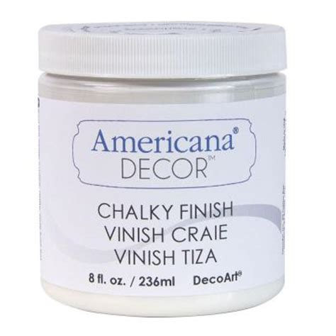 Americana Decor Chalky Finish Paint In Everlasting by Decoart Americana Decor 8 Oz Everlasting Chalky Finish