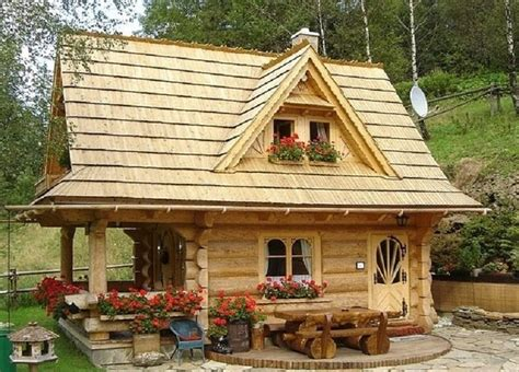 tiny log cabin super cute on the inside country living