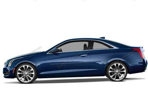 2014-2016 Cadillac Ats 2 Door Body Side Molding