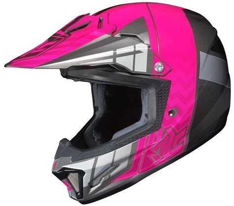 pink motocross helmets 74 84 hjc youth girls cl xy 2 clxy ii cross up motocross