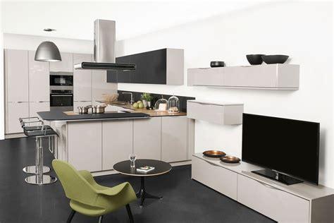 plan cuisine ouverte deco cuisine moderne