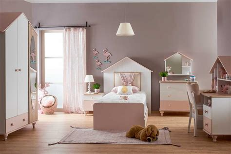 Kinderzimmer Mädchen Kleinkind by Kinderzimmer M 228 Dchen Rosa Wei 223 6 Teilig Furnart