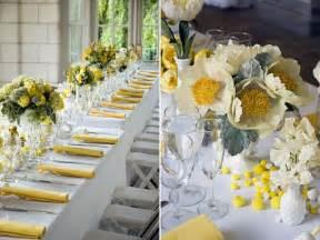deco de mariage décoration de mariage jaune mariageoriginal