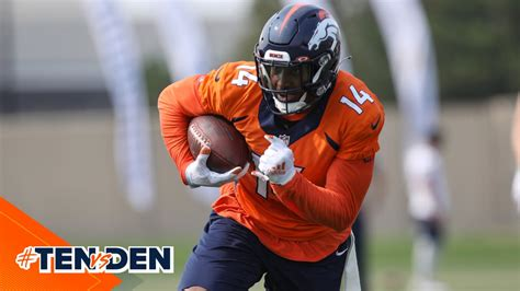 Injury Report: Courtland Sutton listed as limited ...