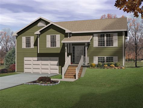 split level house plan architectural designs