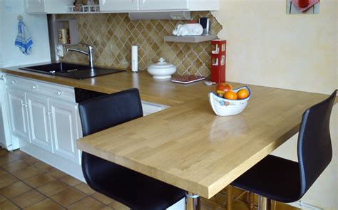 plans de travail de cuisine decoration idee de plan de travail pour cuisine pose