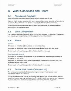 Anti Discrimination Policy Template Employee Handbook Apple IWork Pages Numbers