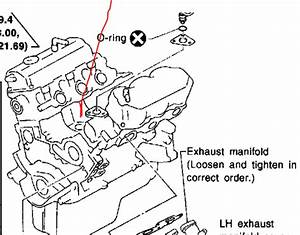 I Want To Find The Knock Sensor In A Nissan Pathfinder Motor