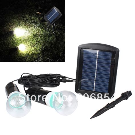 outdoor indoor solar powered led lighting bulb l system