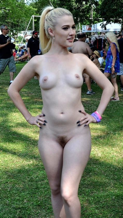 She Is Proud Of Her Body Stripping Nude In The Nudeshots