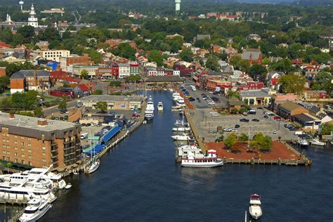 Annapolis Town Dock in Annapolis, MD, United States ...