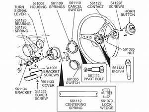 53-62 Steering Column Turn Signal Housing